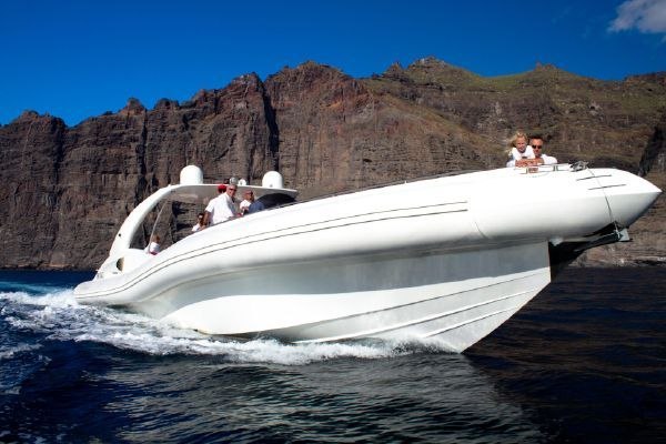 beautiful rib boat in tenerife south for hire
