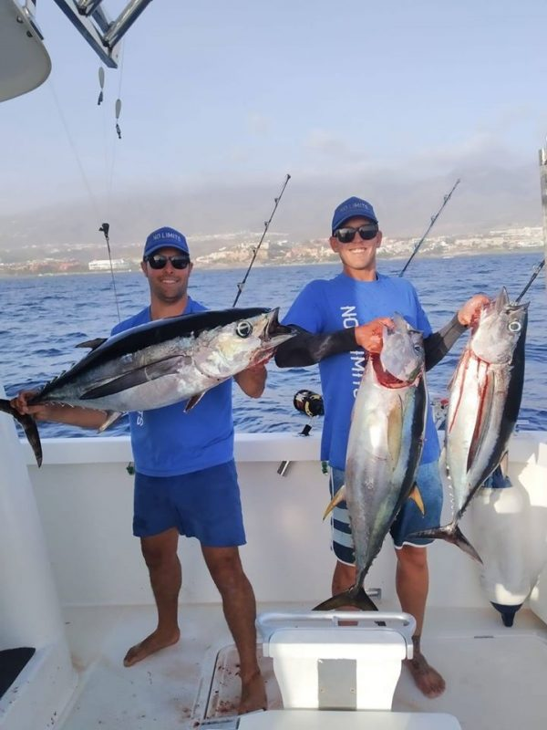 People catching Fish in Tenerife