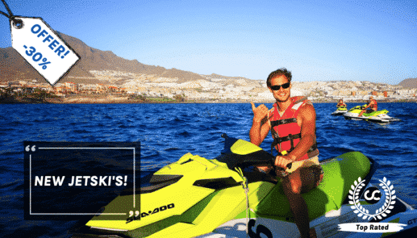 Best jet ski safari of Tenerife can be booked with Club Canary