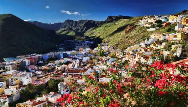 Small town in La Gomera