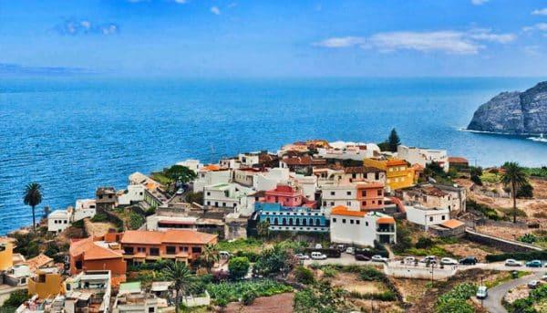 Town in La Gomera