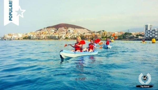 Atlantis Kajaktrip met vertrek uit Los Cristianos