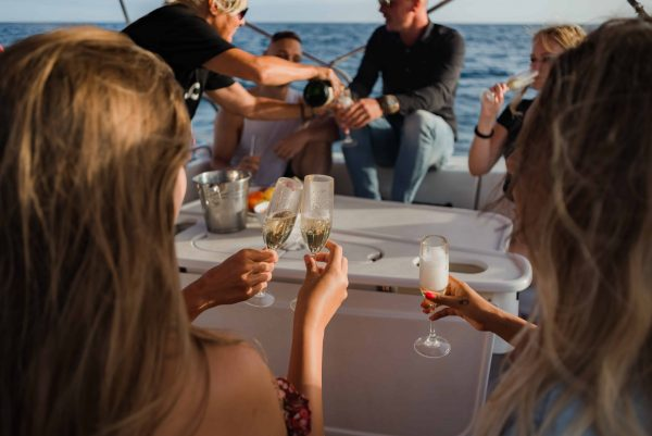 Private boat trip with sunset in Tenerife