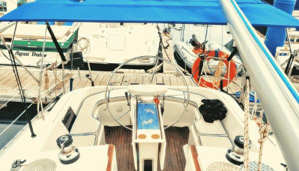 Skyline yacht in Tenerife