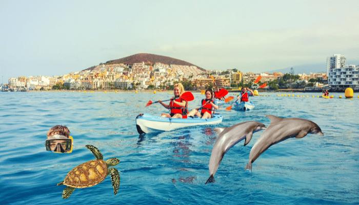 Kajaktocht op Tenerife