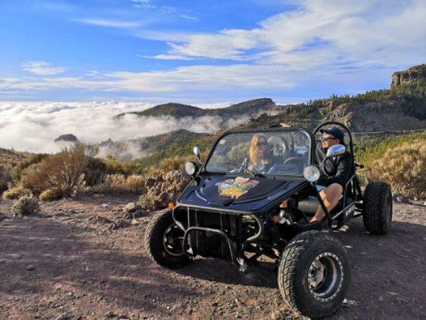 Buggy trip to the El Teide volcano
