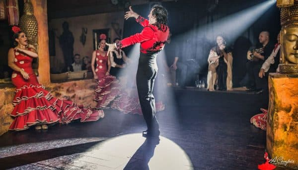 Dancing performance