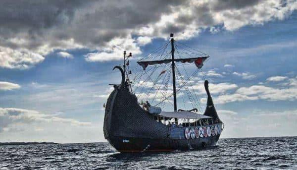 Ragnarok ship in Tenerife