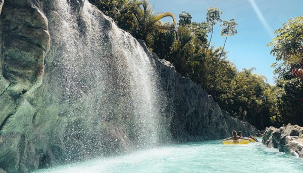 Lazy river in Siam Park