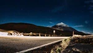 Teide in the dark