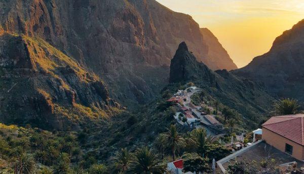 Masca village in Tenerife