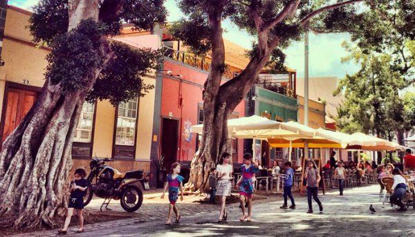 Straat in La Laguna