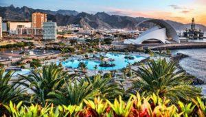 Santa Cruz hoofdstad van Tenerife
