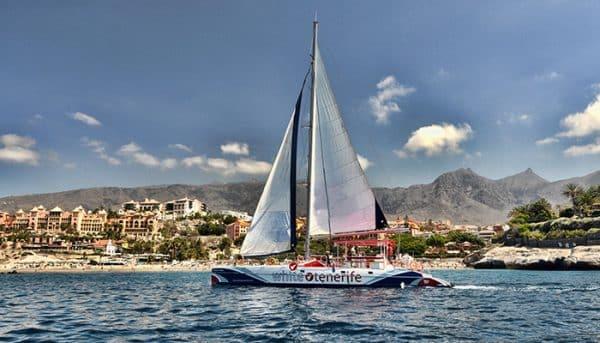 White Tenerife Catamaran
