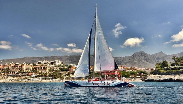 Witte Tenerife Catamaran