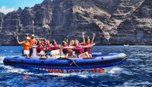 boat ride near Los Gigantes