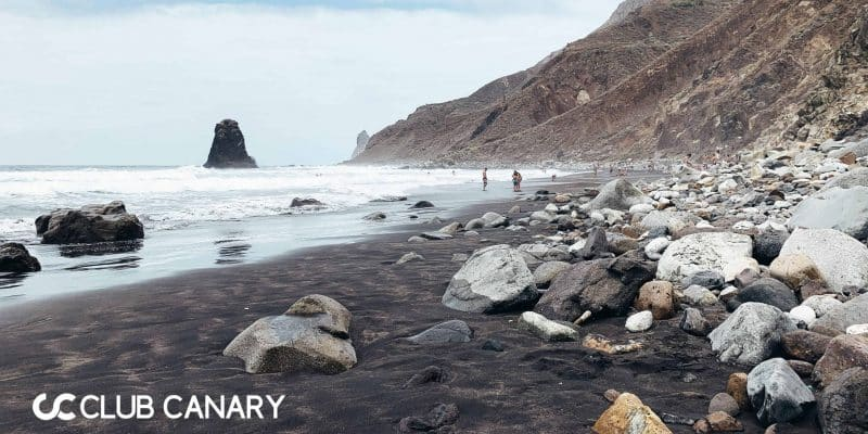 Playa de Benijo is a stunning dark-sanded beach located in the north of Tenerife
