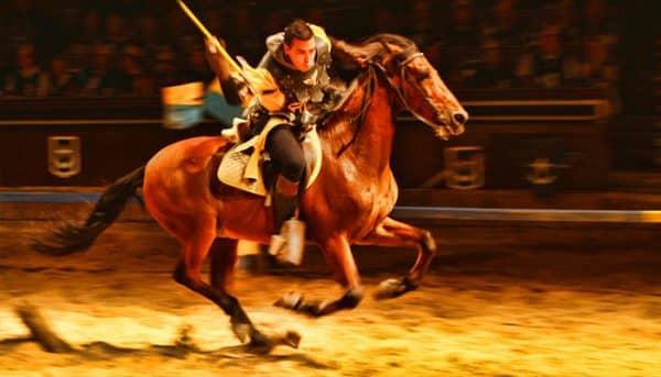 Medieval Show Tenerife performance