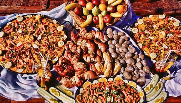 Voedsel op peter pan schip