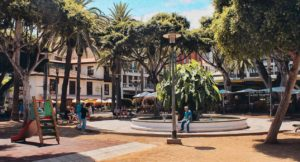 Plaza del Charco at daytime