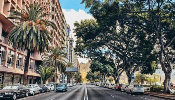 Road in Santa Cruz