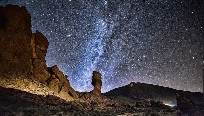 Stargazing from El Teide national park