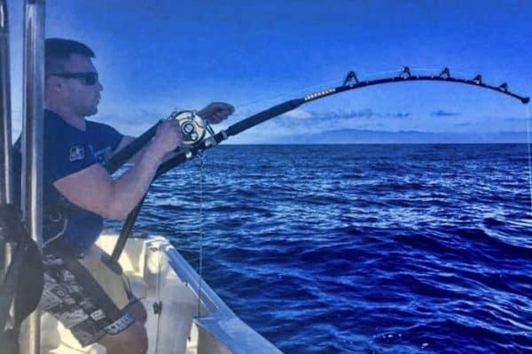 Man doing some fishing