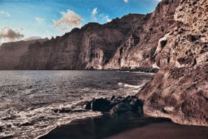 The cliffs of Los Gigantes, the highest cliffs in Europe