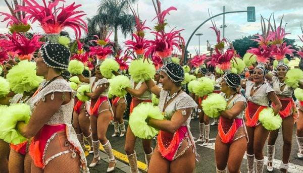 Carnival dancing Tenerife