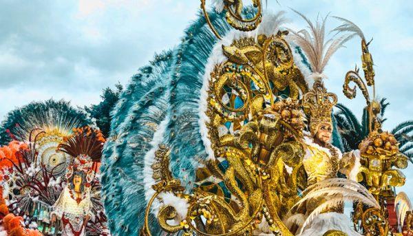 carnival parade in Tenerife