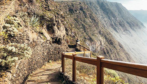 bergweg in El Hierro
