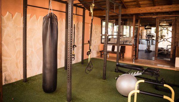 Buiten fitnesscentrum