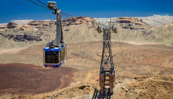 Teide cable car lift