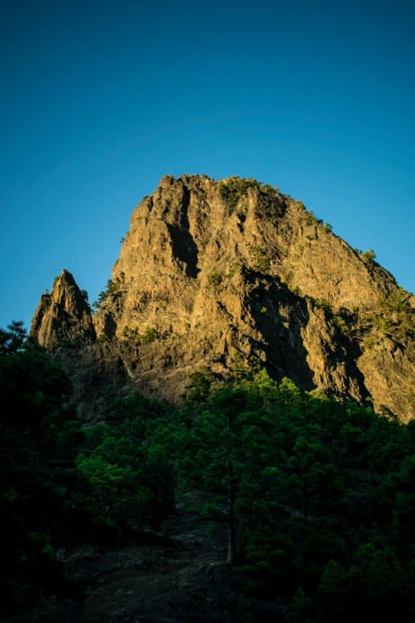 The nature of La Palma offers a beautiful location for people who like to hike
