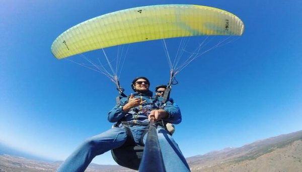 paragliding in Tenerife la caleta