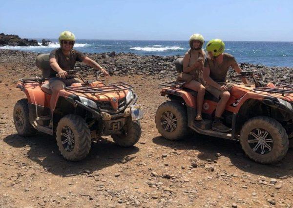 Quad near a beach in Tenerife