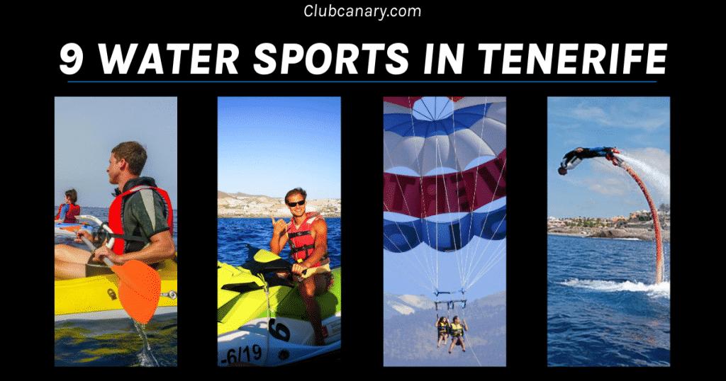 Beste watersporten van Tenerife