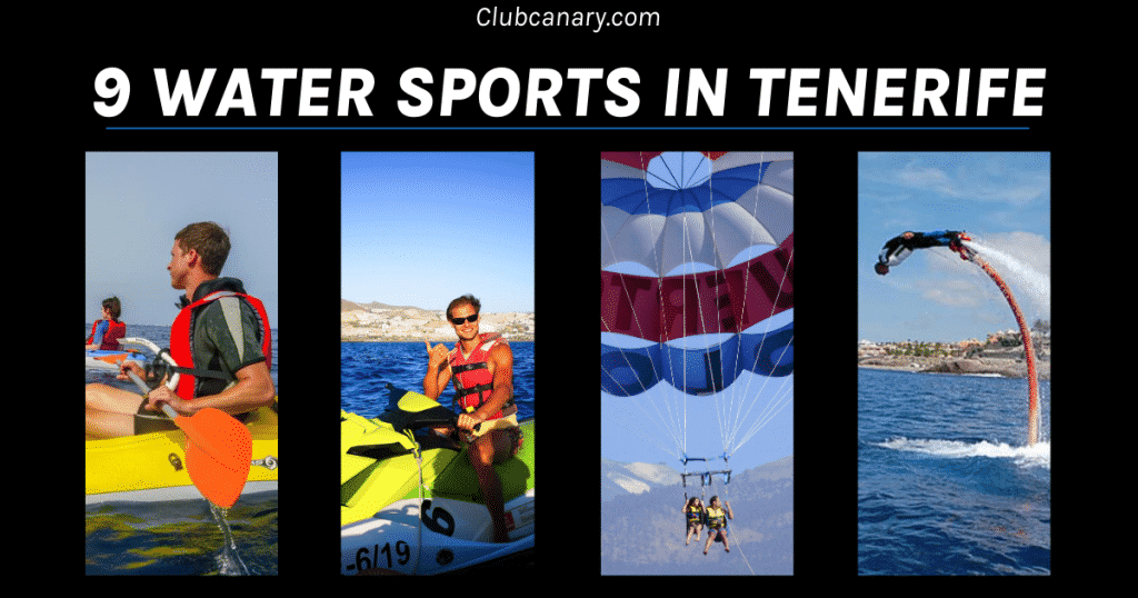 Best Water sports of Tenerife