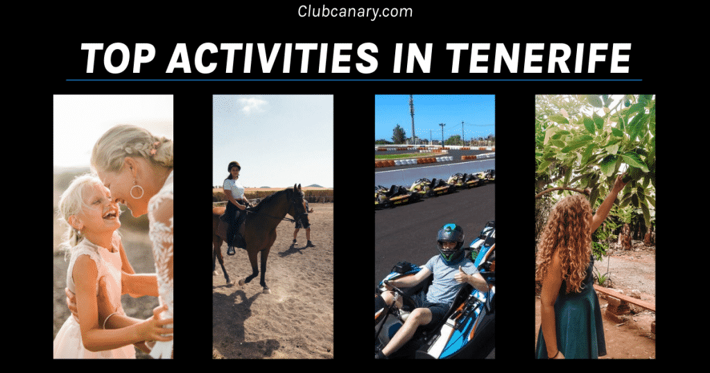 Activities to do in Tenerife by Club Canary