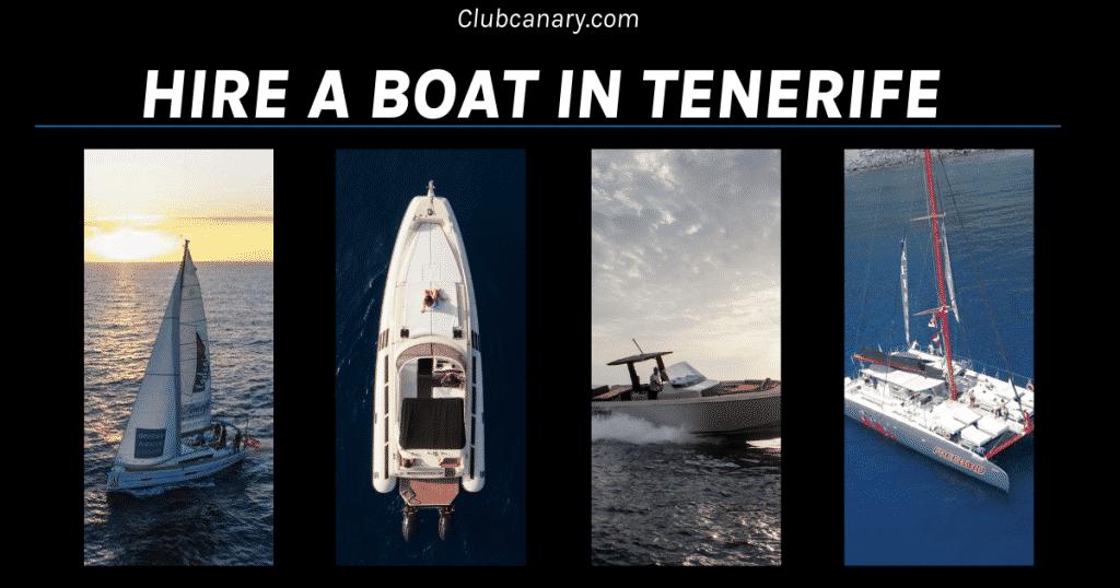 Huur een boot op Tenerife met Club Canary