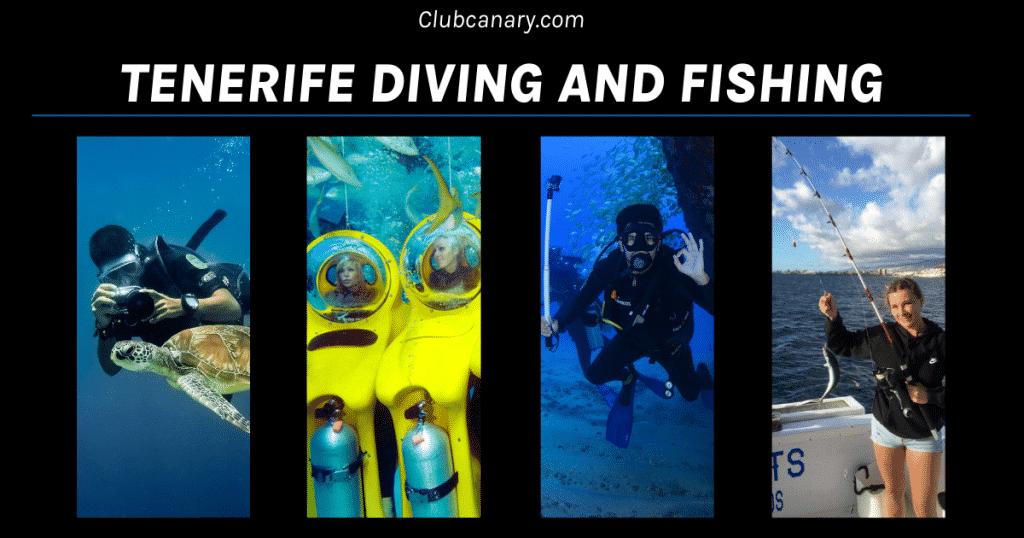Duiken en vissen op Tenerife