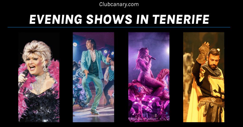 beste avondshows in Tenerife om te zien