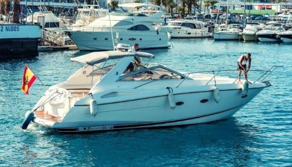Rent a Sunseeker in Tenerife via Club Canary