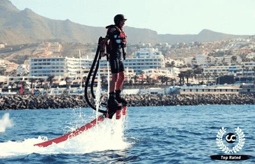 Flyboarding in Tenerife