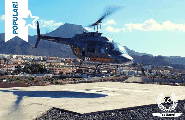 Beste helikoptervluchten op Tenerife